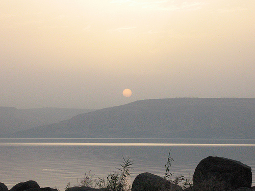 sunrise galilee photo